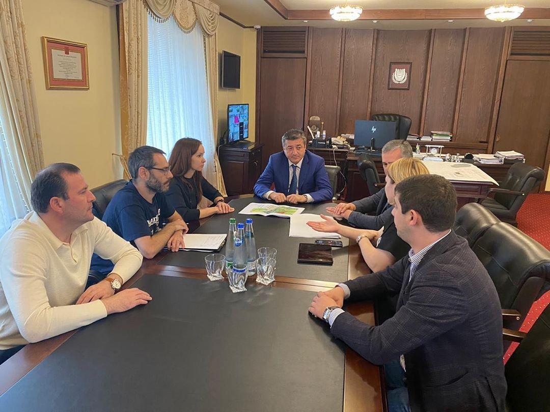 Таймураз Ахохов встретился с представителями архитектурного бюро «РТДА»