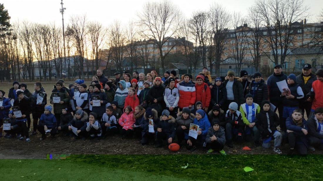 Победы юных регбистов
